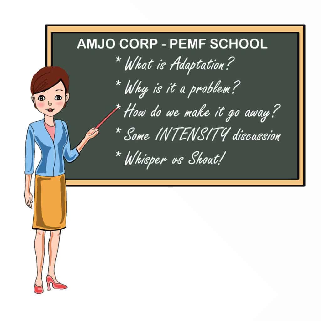pemf school frequency adaptation